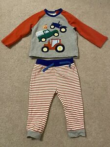 Baby Boden Long Sleeve Top And Joggers Clothes Bundle Set Size 12-18 Months
