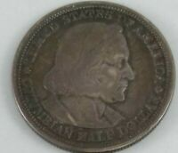 1893 Columbian Expo US COMMEMORATIVE HALF DOLLAR SILVER COIN 93CE
