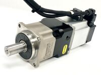 Omron R88M-K20030T-S2 AC Servo Motor With Apex Dynamic 010:1 Planetary Gearhead