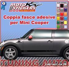 Mini Cooper - Fasce adesive a 1 colori - cod. art. cx28