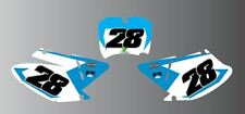 TM MOTOCROSS  NUMBER BOARD AIRBOX GRAPHICS ALL YEARS AND CC MODIFICATION
