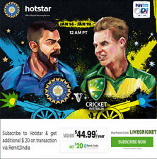 T20 Cricket World Cup 2020 LIVE and EXCLUSIVE on HOTSTAR @49