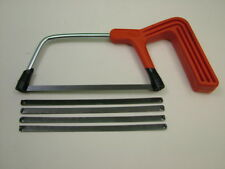 Junior hacksaw with 5 blades 150mm,both saw and blades high quality British made