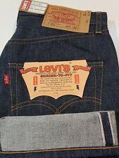 Levi's LVC 1976 501 Jeans Raw Indigo Selvedge USA Cone Denim sz 31 #26408-0000