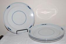 """Set of 4 Royal Copenhagen Denmark Gemina 10.25"""" Dinner Plates, Excellent!"""