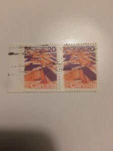 Canada stamps 1972 USED Landscapes
