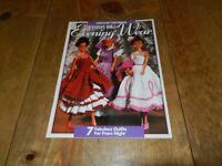 """Fashion Doll Barbie Like """"Evening Wear"""" Crochet Pattern Book"""