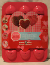 Nordic Ware Cake Pop Baking Pan - Heart Shaped - NEW