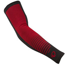 Pearl Izumi Select Thermal Lite Cycling Bike Arm Warmers Red Point - Large