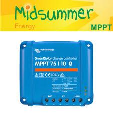 Victron smartsolar 75 V 10 A MPPT Solar PV Cargador Con Construido en Bluetooth - 135 W