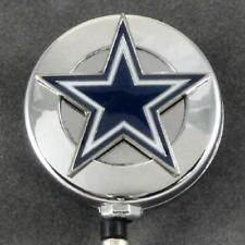 NFL Football Dallas Cowboys Sports Retractable Security ID Badge Holder Reel