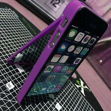 Custodia PROTETTIVA VANITY FASHION Costruito In Specchio & Stand Viola iPhone 5, se & 5s