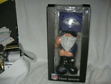 """New listing New Nfl Baltimore Ravens 11"""" Gnome with  00006000 Flag by Forever Collectibles Nib"""