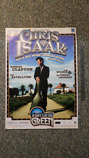 Chris Isaak. A Day On The Green. Australian Tour Poster. 59cm by 42cm. 2006