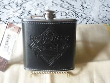 New listing Fripp & Folly Leather and Stainless Steel Flask Nwt