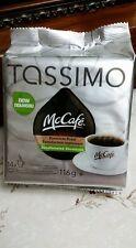 New Tassimo McCafe Premium Meduim Roast Decaffeinated Coffee 14X Cups