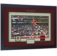 Michael Jordan signed autograph photo print Basketball NBA Framed print #009