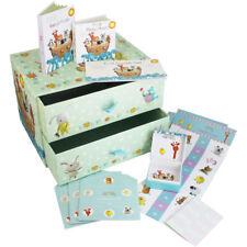 Mazapán vivero bebé niño/niña recuerdo cajones Box Set-Baby Shower/Recién Nacido Regalo