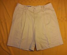 AXist 36 men's pleated Cotton Lyocell Golf Dress Shorts