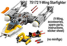 Lego Star Wars Rogue One NEW 75172 Y-Wing Starfighter no minifigs 2017 Scarif FR