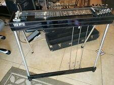 GFI  SM10 3X4 Pedal Steel Guitar w/Case & Bar Very Good Cond!
