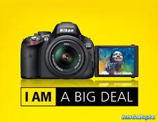 NEW- Nikon D5100 16.2MP DSLR Camera Kit w/AF-S VR 18-55mm Lens +BAG -US WARRANTY