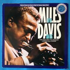 Miles Davis-Live Miles-More Music From Carnegie Hall-'87 Columbia PROMO-UNPLAYED