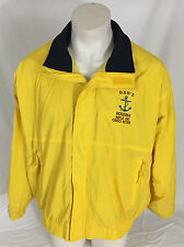 Don's Marina Yellow Full-Zipper Jacket Mile 530 Ohio River Fahrenheit Men's 2XL