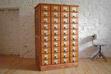 Apothekerschrank Schubladenschrank Alt Shabby Holz Antik Groß Vintage Loft