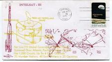 1970 Intelsat III TV Global Coverage Apollo 8 Atlantic Pacific Indian Ocean SAT