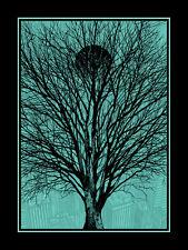 Dan mccarthy-koyaanisqatsi-rare signé art écran imprimer brille dans le noir