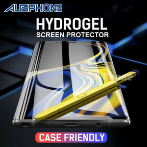 HYDROGEL Screen Protector For Samsung Galaxy S10 5G S9 S8 Plus Note 10 9 S7 Edge