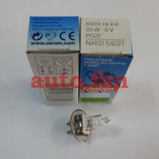 NUOVO OSRAM HLX64251 6V20W per YZ-5X Lampada a fessura microscopio Lampadina Alogena