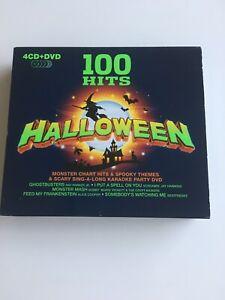 Various Artists : 100 Hits: Halloween CD Box Set with DVD 5 discs (2009)