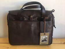 Filson Original Leather Briefcase Sierra Brown Computer Bag 70394 NWT 11070394