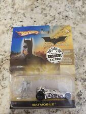 2005 Comic Con Batman Begins Hot Wheels Limited Edition