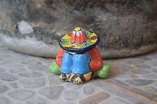 Mexican Sombrero Mini Siesta Dude Talavera Ceramic Home Kitchen Patio Garden