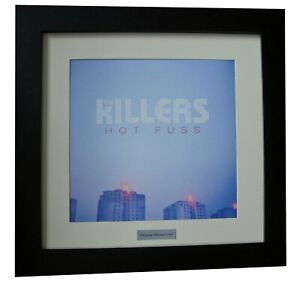 THE KILLERS+HOT FUSS+BRIGHTSIDE+Album+LP+Art+TOP QUALITY FRAMED+FAST GLOBAL SHIP