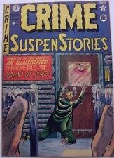 CRIME SUSPENSTORIES #8 (1951/52) FN 6.0  GOLDEN AGE E.C HORROR