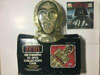 Vintage Star Wars ROTJ C-3PO Collectors Action Figure Kenner NEW!! Case Lot