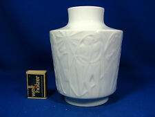 60´s Kurt Wendler Design Edelstein  Relief Porzellan relief porcelain Vase 17 cm