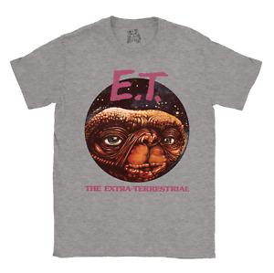 E.T T-shirt Classic Movie ET Retro Gift Vintage Mens Ladies Unisex tshirt tee