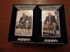 ZIPPO A SERIES IN TIME 2 ZIPPO SET GG BLAISDELL & GEORGE DUKE ZIPPO #04348