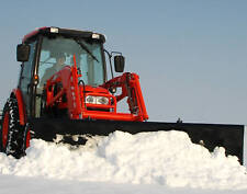"NEW 84"" SNOW BLADE / PLOW QUICK ATTACH, JOHN DEERE, KIOTI, NEW HOLLAND, KUBOTA"