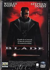 BLADE de Stephen Norrington con Wesley Snipes, Stephen Dorff... MARVEL COMICS