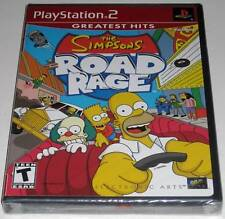 The Simpsons Road Rage (PlayStation 2) ..NEW~ SeaLED!!