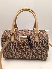 DKNY Handbag Chino Gold Heritage w/ Saffiano Shoulder Bag Tote Satchel $248