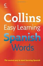 Easy Learning Spanish Words (Collins Easy Learning Spanish),Collins
