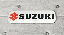 JDM Suzuki brushed aluminum car badge emblem decal sticker