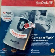 SANDISK SDDR-92-A15 USB 2.0 COMPACT FLASH CARD READER WRITER